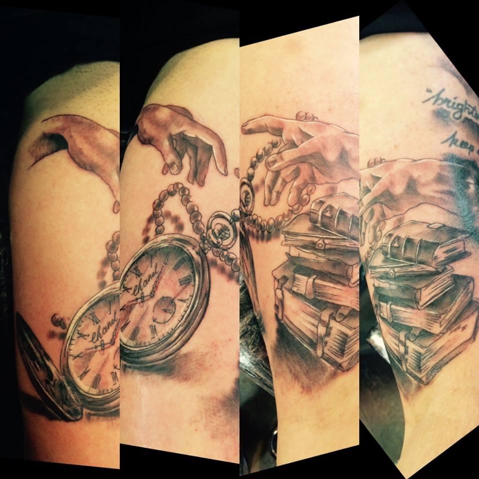 Boeken Handen Tattoo Knuckledusters And Ponys