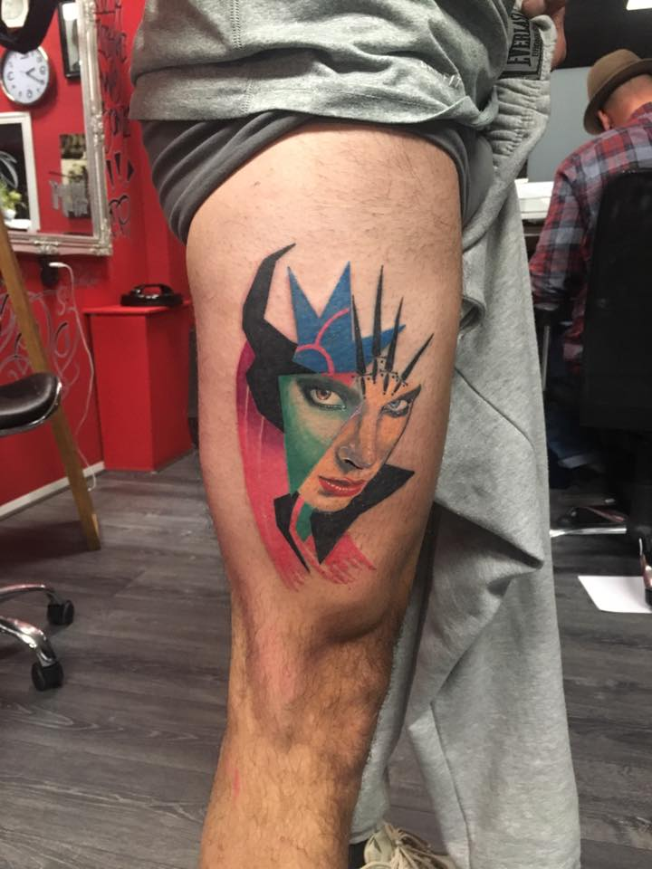 maleficent-abstract-tattoo