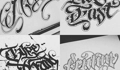 calligraffitiscripttattoo
